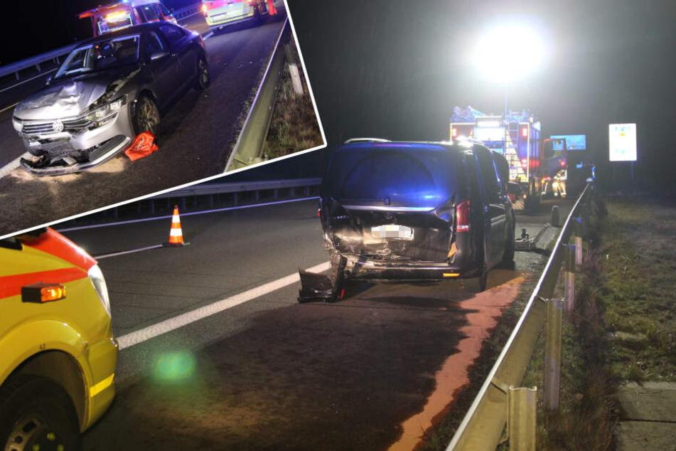 Spurwechsel mit fatalen Folgen: Schwerer Unfall auf der A38