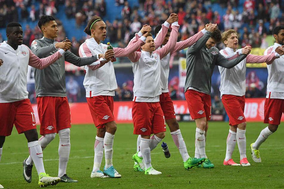 Die Roten Bullen haben in Leipzig nicht nur Freunde...