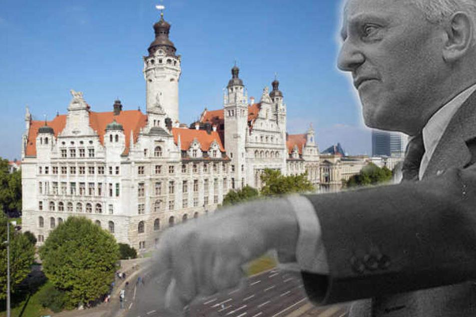Im Streit um ein Bild von Erich Zeichner (re.) in der OBM-Galerie schlagen sich jetzt auch zwei SPD-Ortsvereine auf die Seite der Linken.