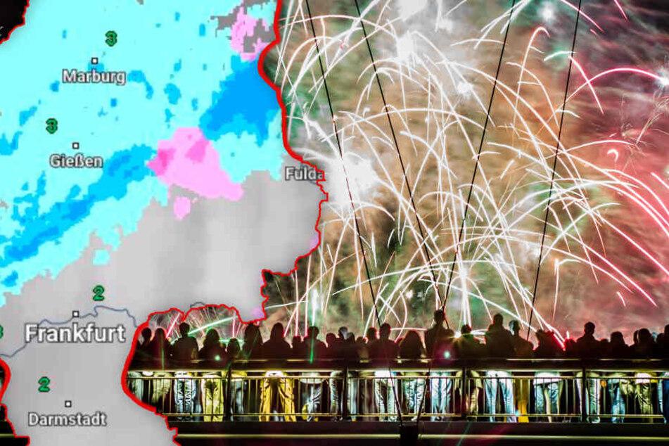 Freie Sicht aufs Silvester-Feuerwerk? Das wird in Hessen scheinbar schwer