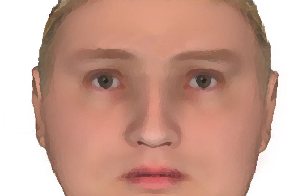 Dieses Phantombild zeigt den korpulenten Täter, der während des Überfalls nur Englisch sprach.
