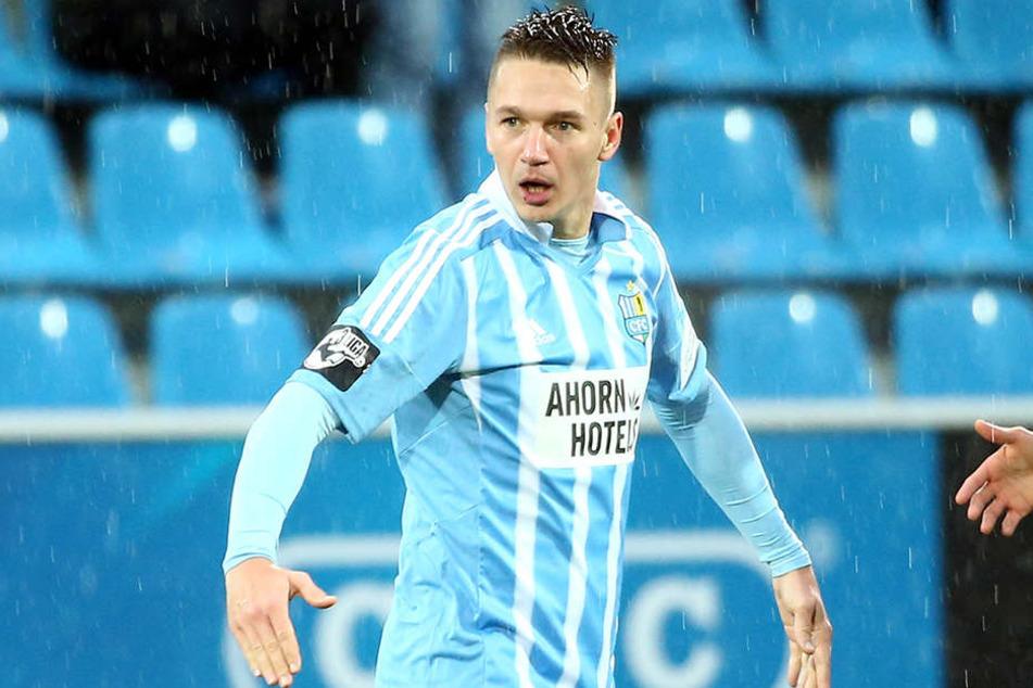 Dem CFC fehlt ein richtiger Taktikplan, meinte Daniel Frahn nach dem Spiel in Großaspach.