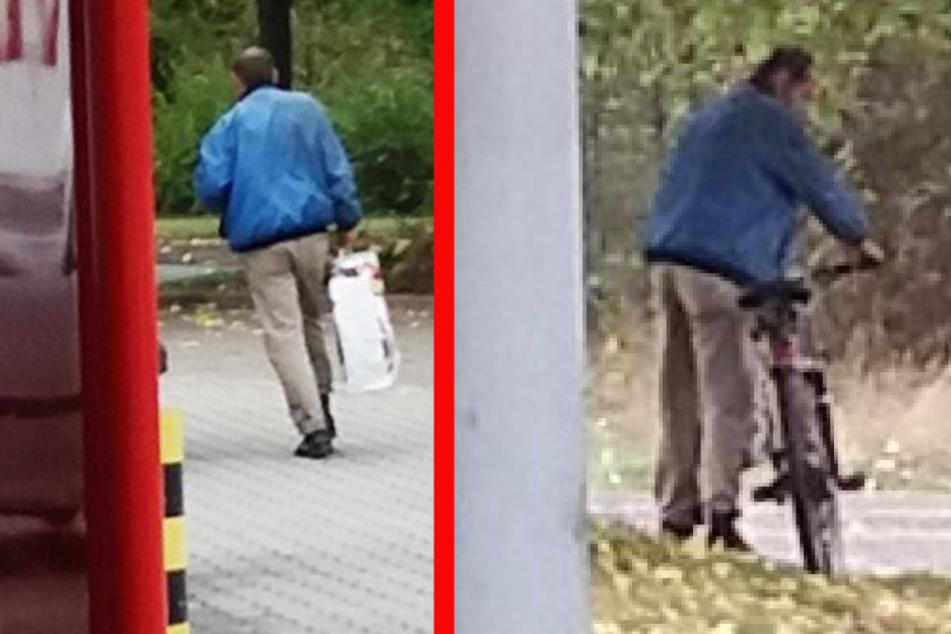Mit Pistole gedroht: Polizei sucht diesen Penny-Räuber