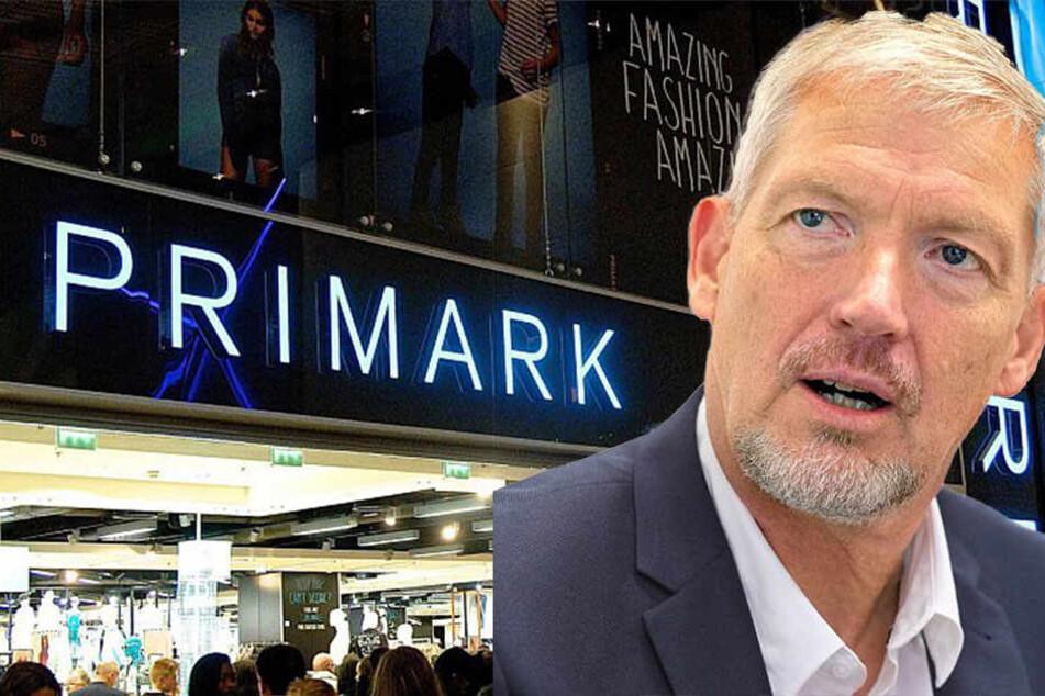 Primark-Chef Wolfgang Krogmann spricht über die neue Filiale in Bielefeld, die im Oktober öffnet.