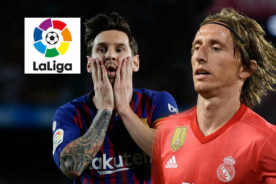 Barca und Real mit erster Niederlage: Atletico und Sevilla freut es!