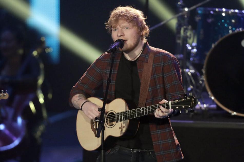 Ed Sheeran ist in Hockenheim zu Gast.