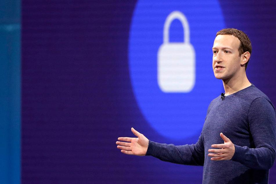 Mark Zuckerberg, Vorstandsvorsitzender von Facebook, verspricht für die Zukunft besseren Schutz der User-Privatsphäre.
