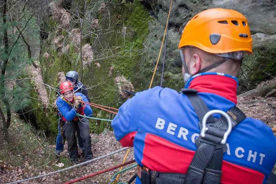 Die freiwilligen Retter der DRK-Bergwacht haben immer mehr zu tun.