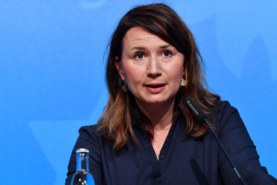 Thüringens Ministerin für Umwelt, Energie und Naturschutz, Anja Siegesmund (Bündnis 90/Die Grünen).