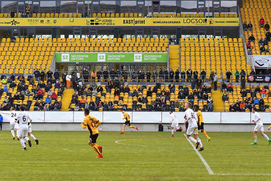 250 Zuschauer sahen Dynamos Testspiel gegen den tschechischen Erstligisten FK Mlada Boleslav.