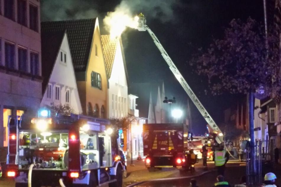 In diesem Gebäude in der Stadthäger Altstadt starb ein Mann.