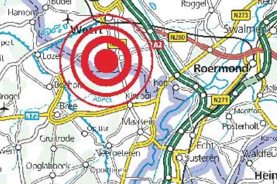 Das zweite Erdbeben in der Region traf die Niederlande.