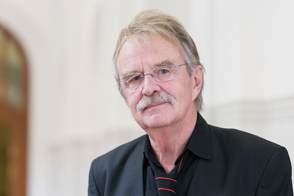 Stadtrat Dieter Füßlein (79) freut sich über das große Wohnungsangebot.