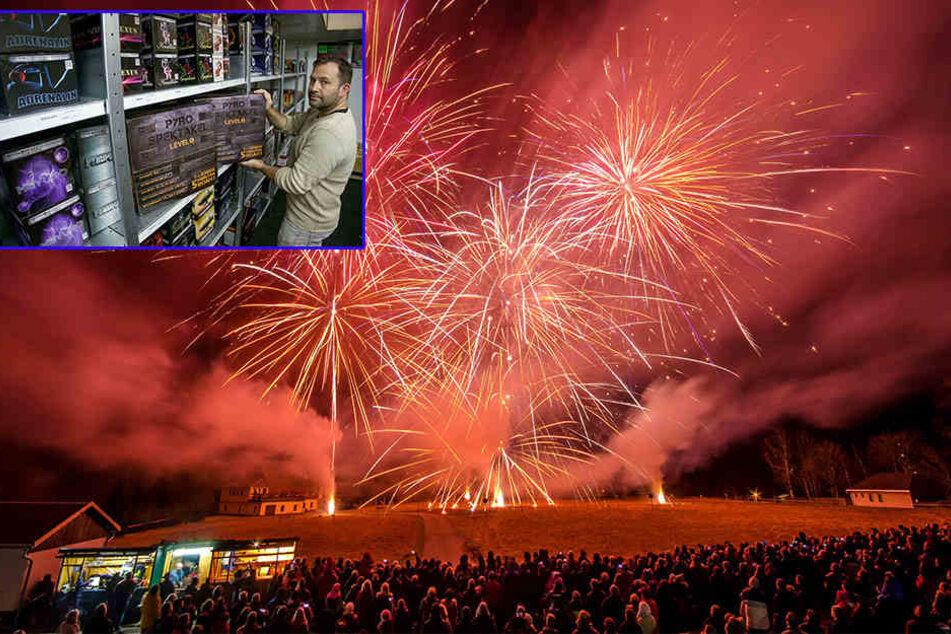 """Es geht wieder los: Hier gibt es Feuerwerk """"Made in Sachsen"""""""