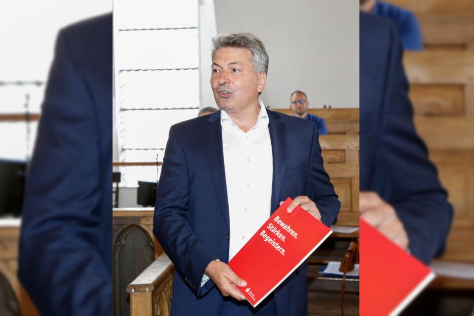 Noch ist er Meißner-Landrat: Arndt Steinbach (51, CDU).