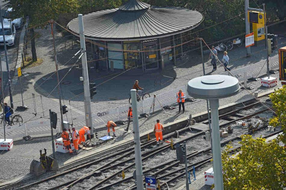 Massenschlägerei am Albertplatz: Ausländer und Deutsche prügeln sich