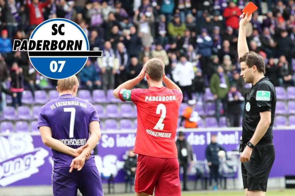 Zwei Spiele Sperre für Hünemeier: SCP akzeptiert Strafe nicht