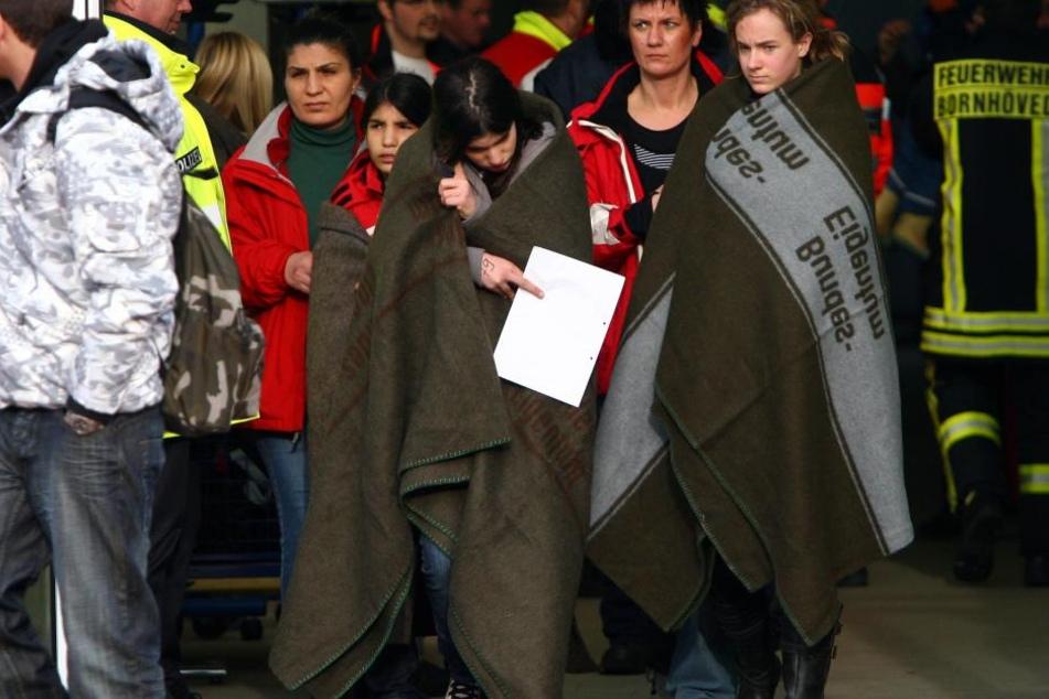 Evakuierung in Schule: Unbekanntes Gas freigesetzt