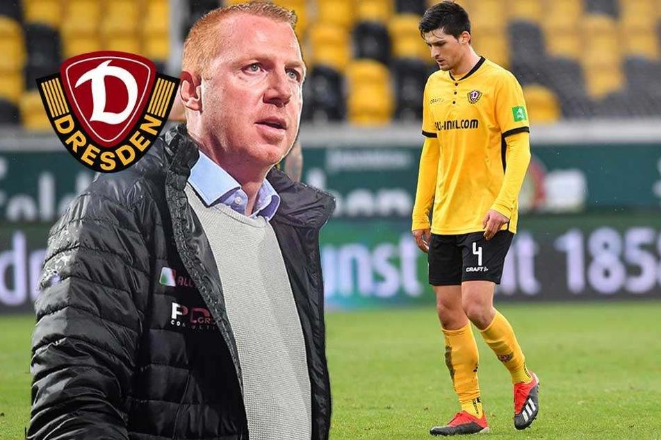 Wegen Nikolaou! Schlechte Laune bei Dynamo-Coach Walpurgis