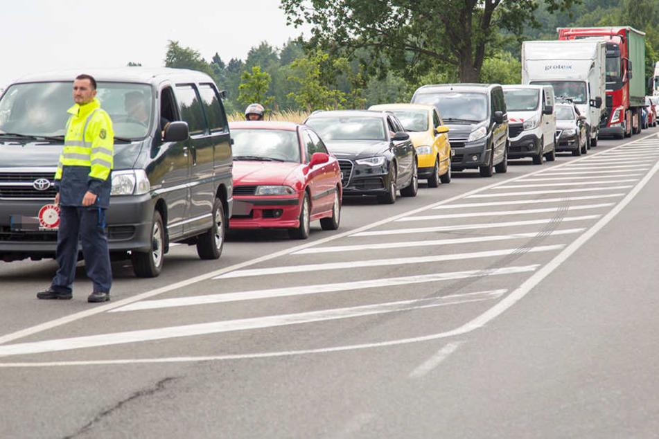 In mehreren Richtungen kam es zu Verkehrbehinderungen.