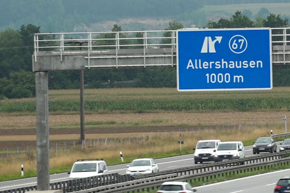 Auf der Autobahn 9 wurde am Dienstag die Leiche eines Menschen entdeckt.