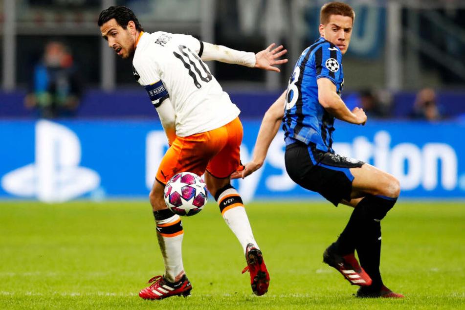 Mario Pasalic (r.) wurde in Mainz geboren. Gegen Valencia gab er zwei Torvorlagen.
