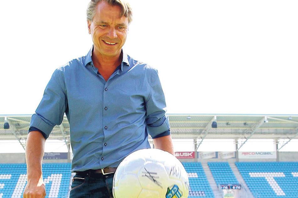 Bei seinem Amtsantritt im Juni erschien Horst Steffen bestens gelaunt. Er sorgte für eine Aufbruchstimmung- die ist längst verflogen.