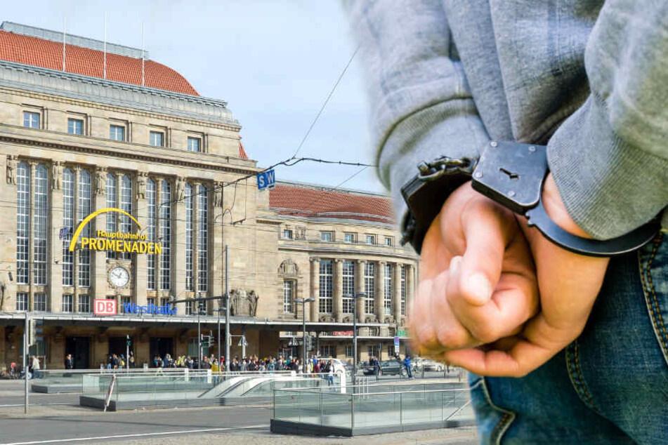 Leipzig: Während die Polizei zusah: Mann (23) verpasst 18-Jährigem Kopfnuss ins Gesicht