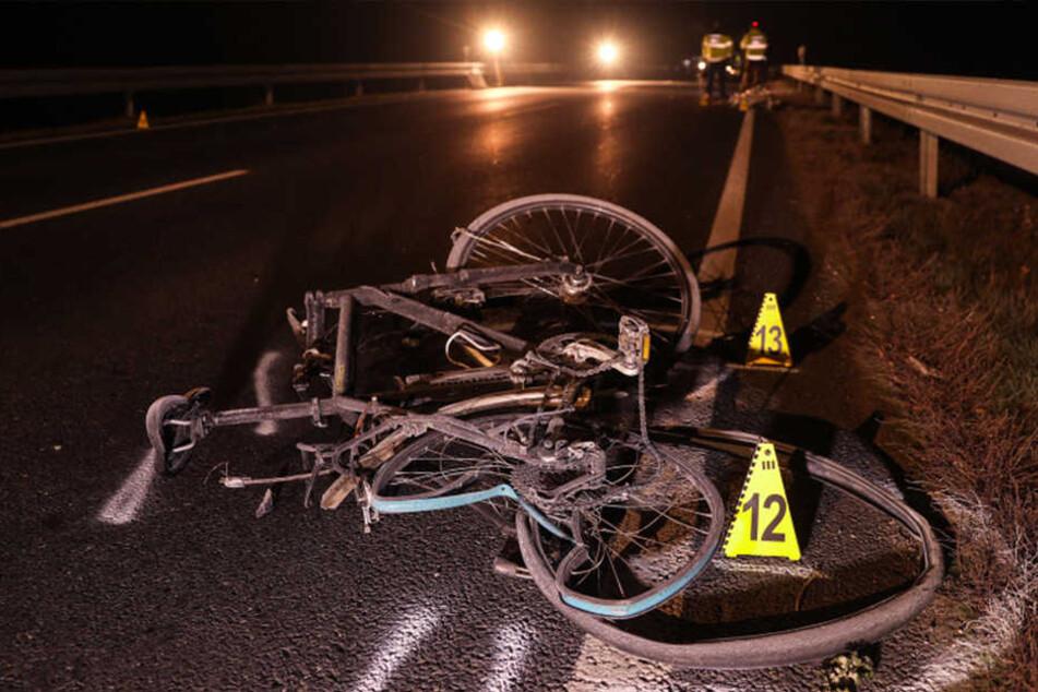 Er war mit dem Rad unterwegs: Dresdens Amtsleiter Falk Schmidtgen (†54) verstarb noch am Unfallort.