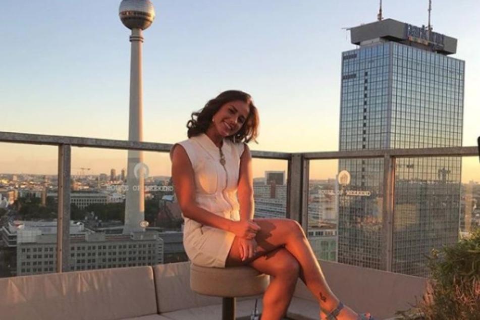 Sarah Lombardi zeigt sich verliebt in Berlin