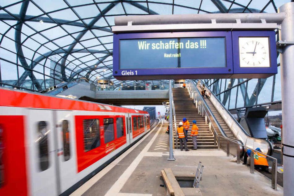 Hamburgs neue S-Bahn-Station eröffnet mit einem Jahr Verspätung