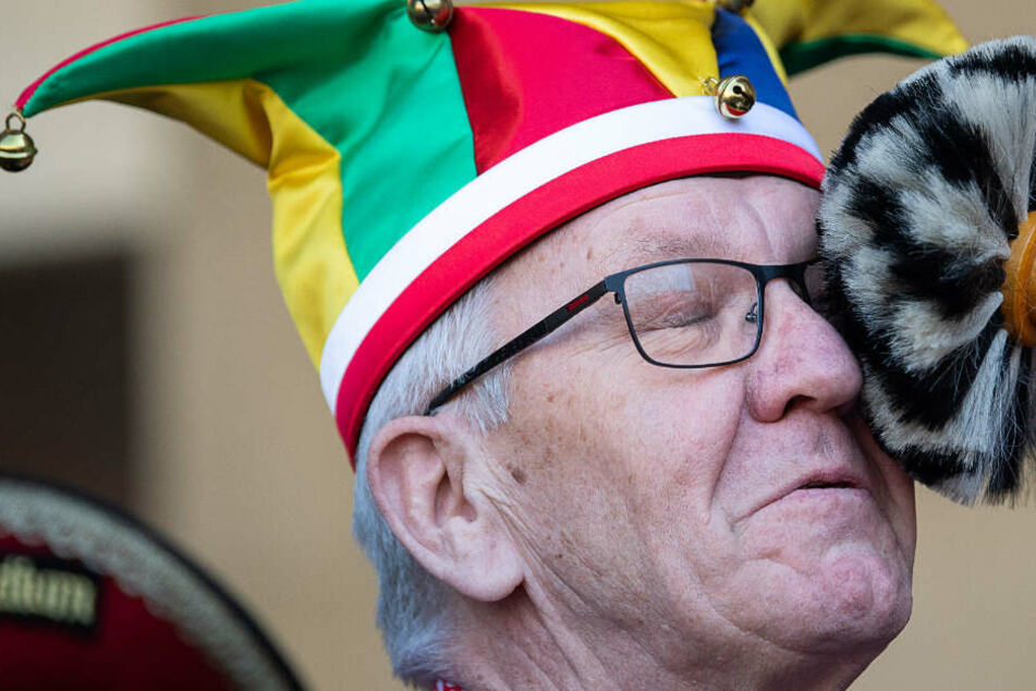 Kretschmann entstaubt - Die Narren haben das Schloss gestürmt!
