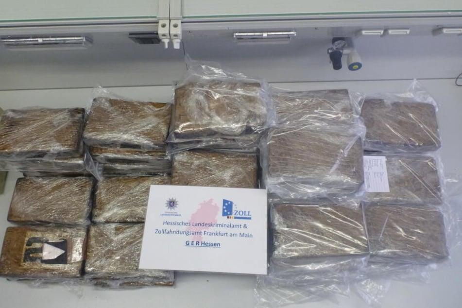 Millionenschwerer Fund: Polizei fängt Mega-Kokain-Lieferung an Supermärkte ab