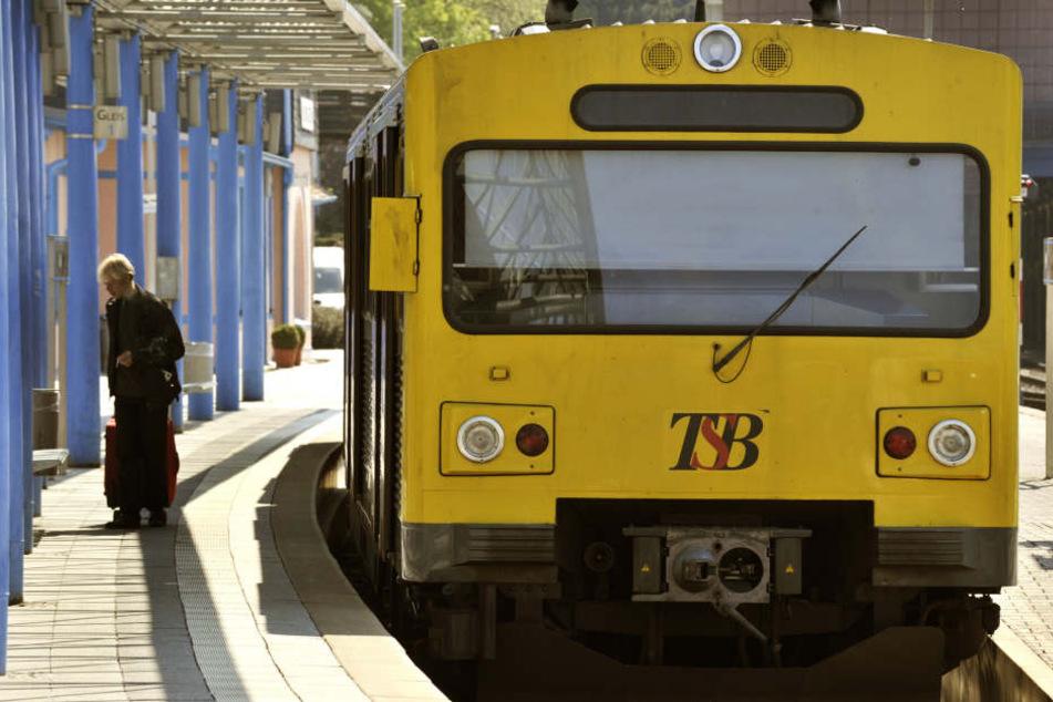 Der Übergriff geschah in einem Zug der HLB. (Symbolbild)