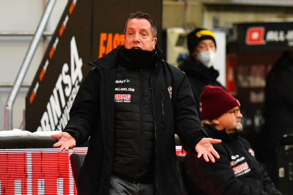 Dynamo Dresdens Trainer Markus Kauczinski (50) befindet sich derzeit in stationärer Behandlung.