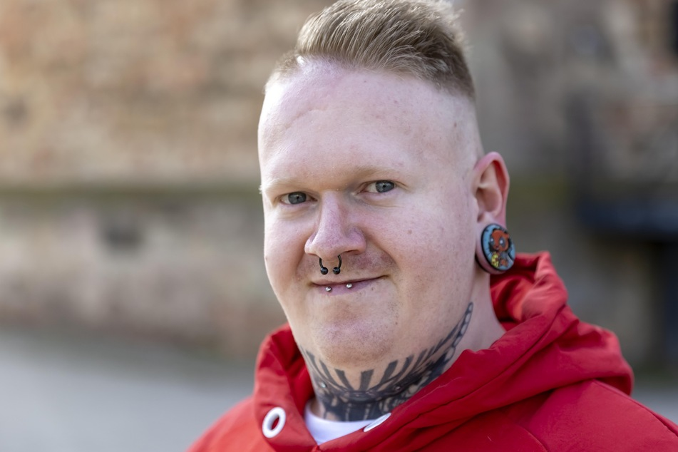 Tätowierer Nico Reinhold (30).