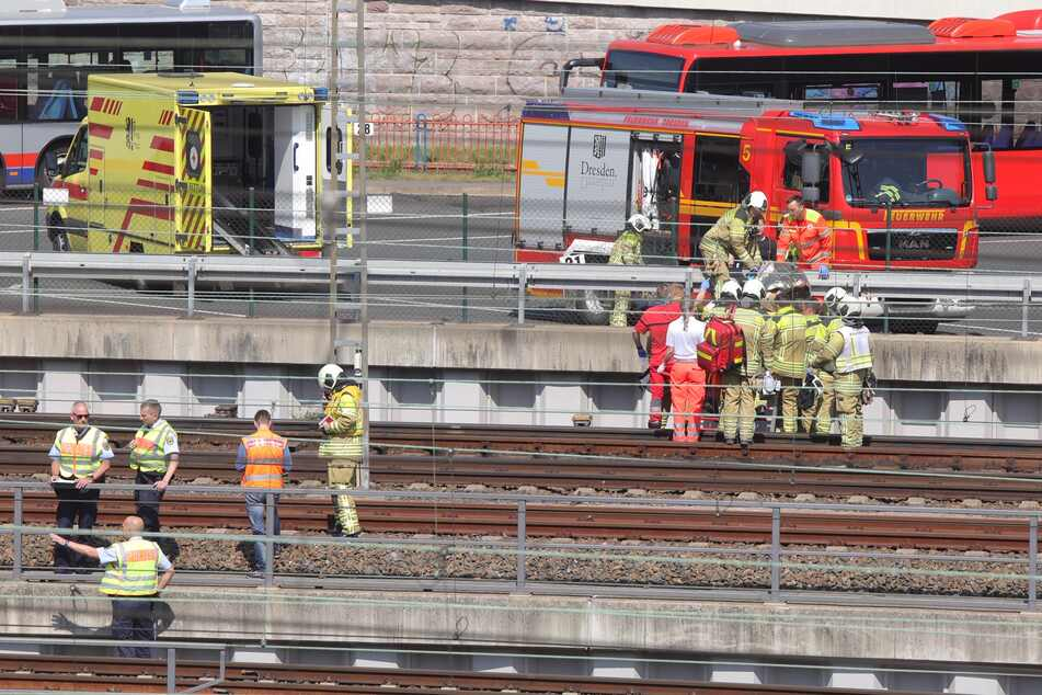 Dresden: Zugunfall am Dresdner Hauptbahnhof: Kind verletzt