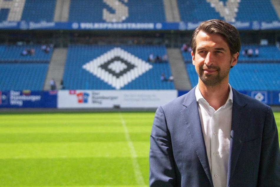 Seit drei Jahren ist Jonas Boldt (39) der starke Mann beim HSV. (Archivbild)