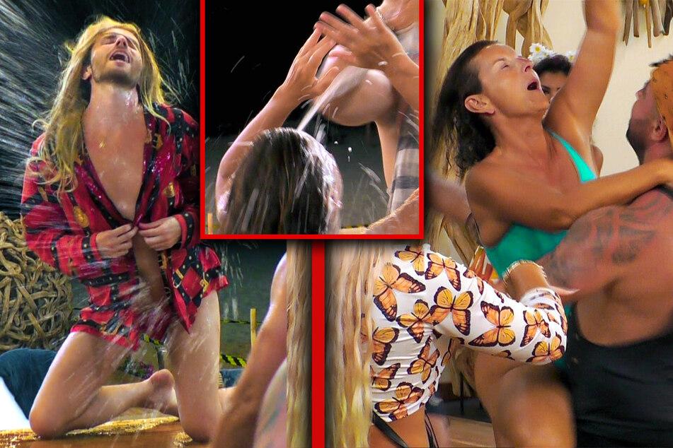 Kampf der Realitystars: Hemmungslose Party-Eskapade: Claudia Obert im siebten Himmel