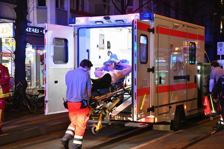 Mann nach Streit am Rosenthaler Platz niedergestochen