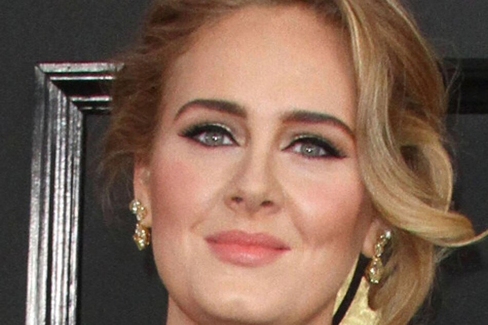 Adele at the Grammy Awards in 2017 (archive image).