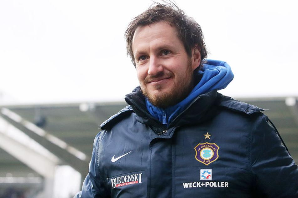 Trainer Hannes Drews ist mit der Offensive zufrieden.