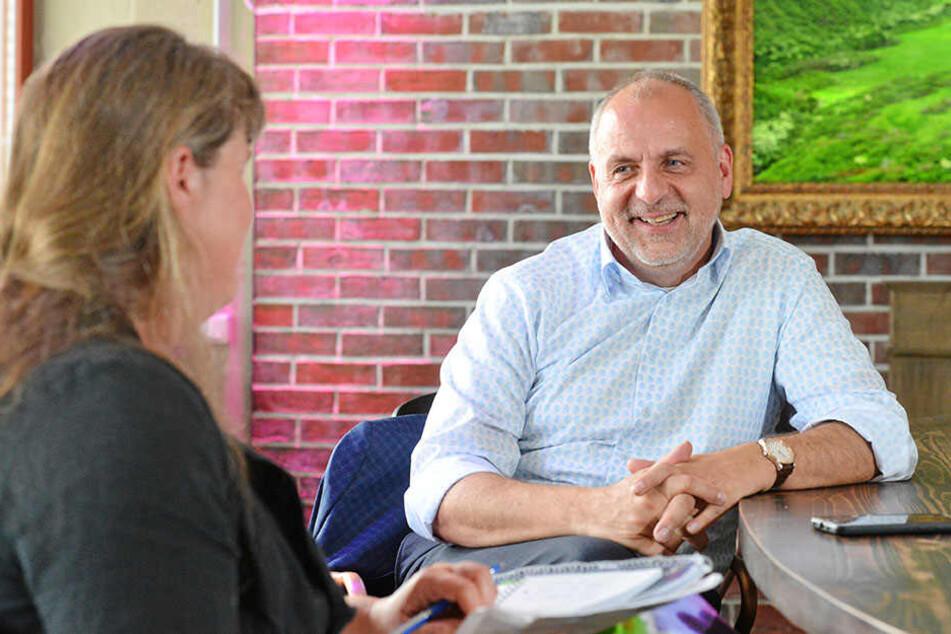 LINKEN-Chef Gebhardt sieht den Wahlausgang offen wie lange nicht