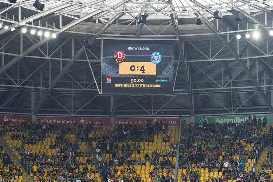 Der Blick auf die Anzeigetafel versprach nichts Gutes. Bei Dynamos 65. Geburtstagsfeier erwiesen sich die Kieler im April als regelrechte Partycrasher.