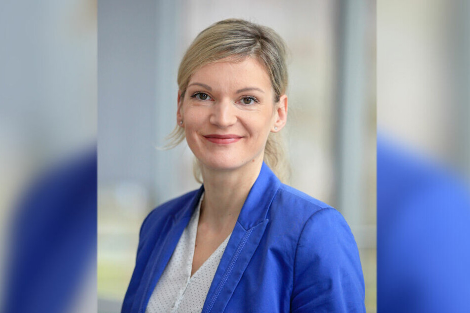 Die Chemnitzer enviaM-Sprecherin Evelyn Zaruba (41) rät betroffenen Kunden, Anzeige zu erstatten.