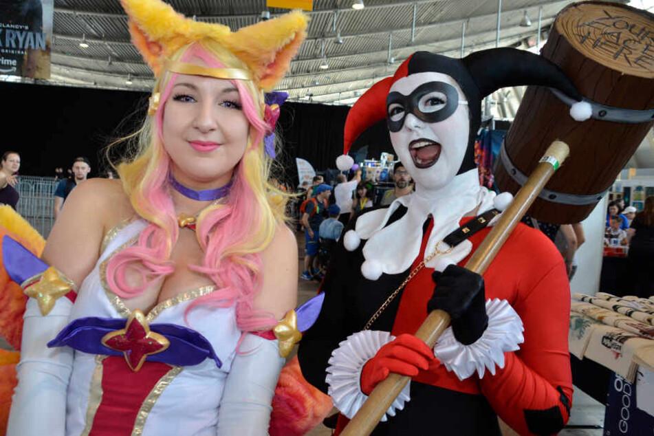 "Fantasy, Cosplay und Sci-Fi: 40.000 kamen zur ""Comic Con"""