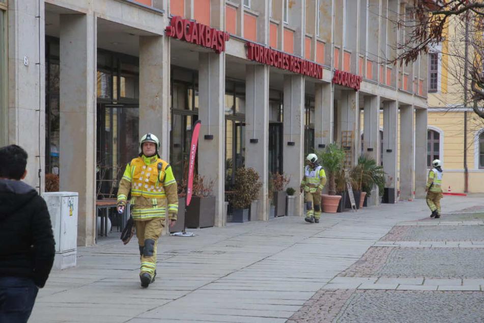 Betroffen ist das Gebäude des Restaurants Ocakbasi.