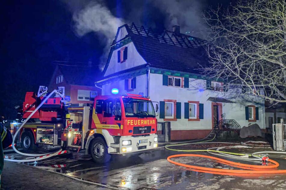 Am Haus entstand enormer Schaden.