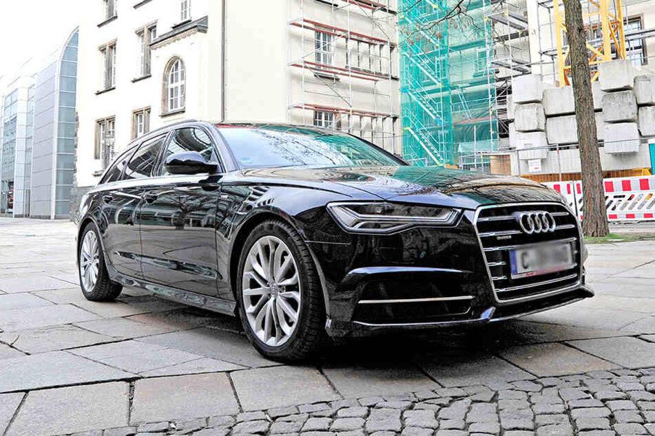 Ist der schick, Mann: Angesichts des neuen Dienstwagens Audi A6 Avant Quattro  rümpfen einige die Nase.