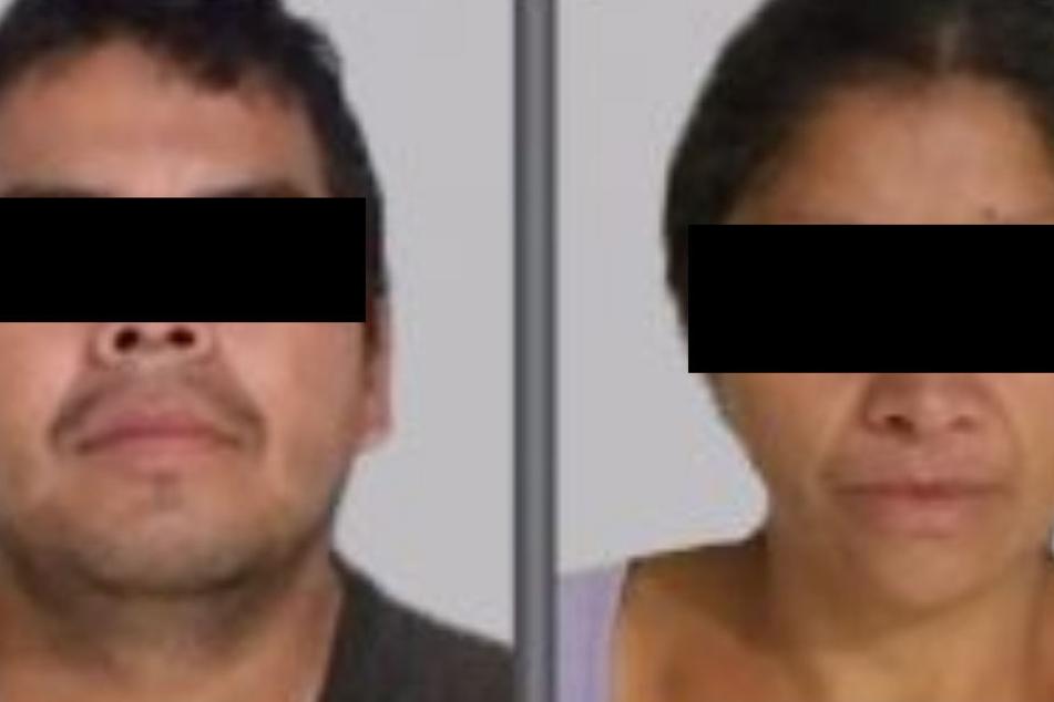 Das Mörder-Paar wurde in der Stadt Ecatepec nahe Mexiko-Stadt gefasst.